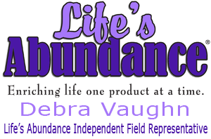 Life's Abundance Pet Food - Debra Vaughn - Life's Abundance Independent Field Representative